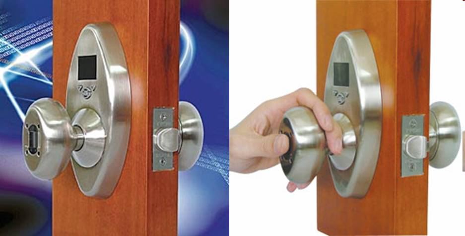 BioKnob, The Biometric Door Lock | High-Tech Reports
